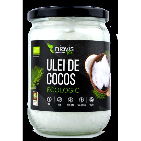 Ulei de Cocos Virgin Organic BIO (450g/565ml)
