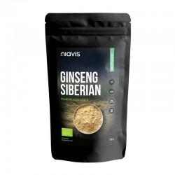 Ginseng siberian pulbere ecologica/BIO (125 grame), Niavis