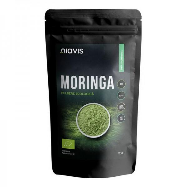 Moringa pulbere ecologica/BIO (125 grame), Niavis