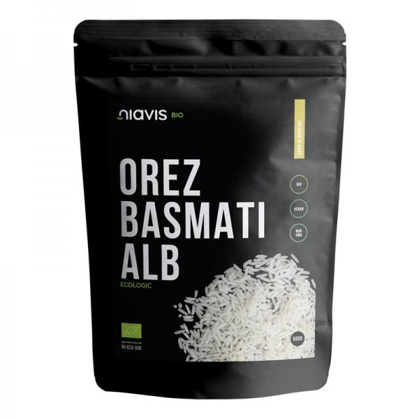 Orez basmati alb ecologic/BIO (500 grame), Niavis