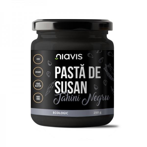 Pasta de susan (Tahini Negru) ecologica/BIO (250 grame), Niavis