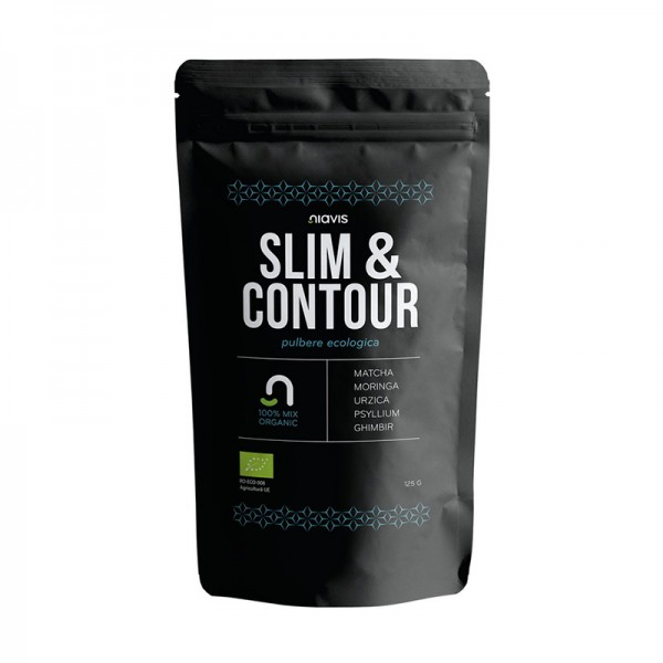 Slim & Contour - Mix ecologic (125 grame), Niavis