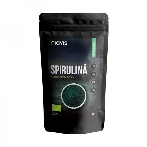 Spirulina Pulbere Organica Bio (125 grame)