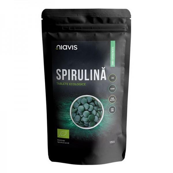 Spirulina tablete ecologice/BIO (125 grame), Niavis