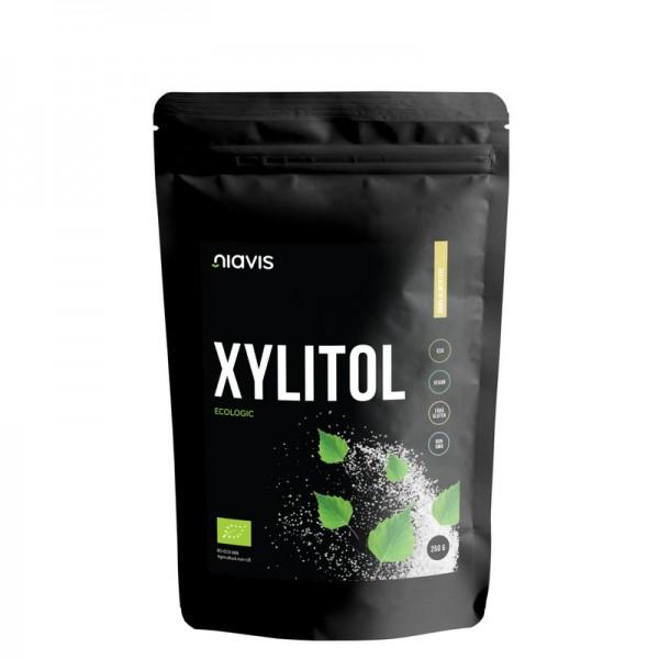 Xylitol pulbere ecologica/BIO (250 grame), Niavis