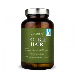 Double Hair Vegan (60 capsule), Nordbo