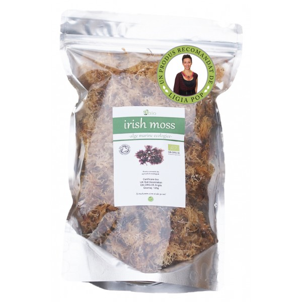 Alge Irish moss raw bio (125g)