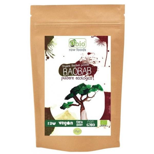 Baobab pulbere raw (125 grame)