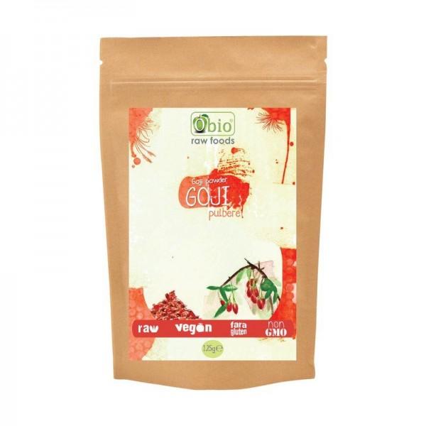 Goji pulbere raw (125 grame)