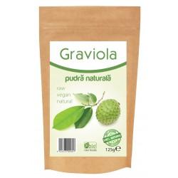 Graviola pulbere raw (125 grame)