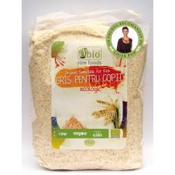 Gris pentru copii din spelta si einkorn bio (500 grame)