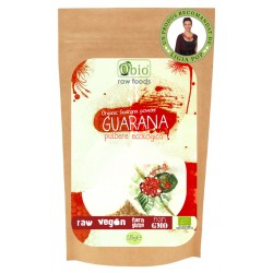 Guarana pulbere raw bio (125 grame)
