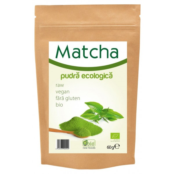 Matcha pudra bio (60 grame)