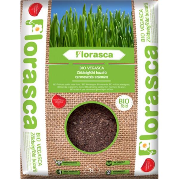 Pamant ecologic pentru iarba de grau, orz, ovaz (3litri)
