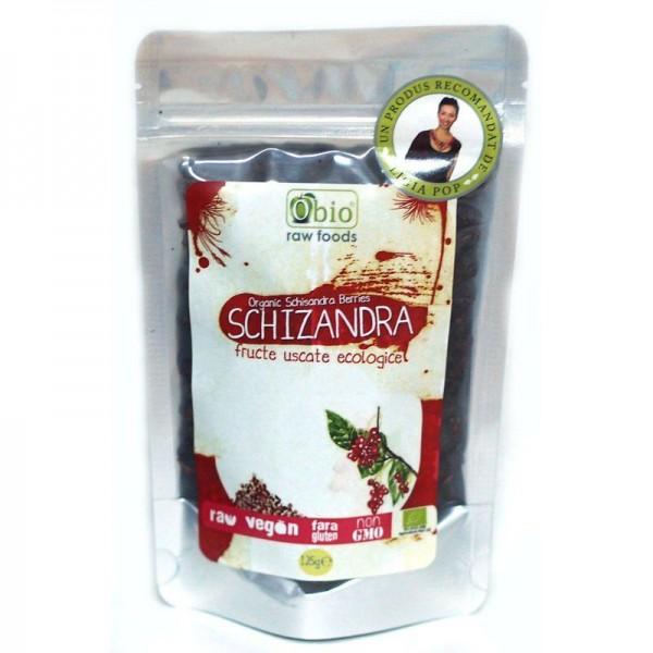 Schizandra fructe deshidratate raw (125 grame)