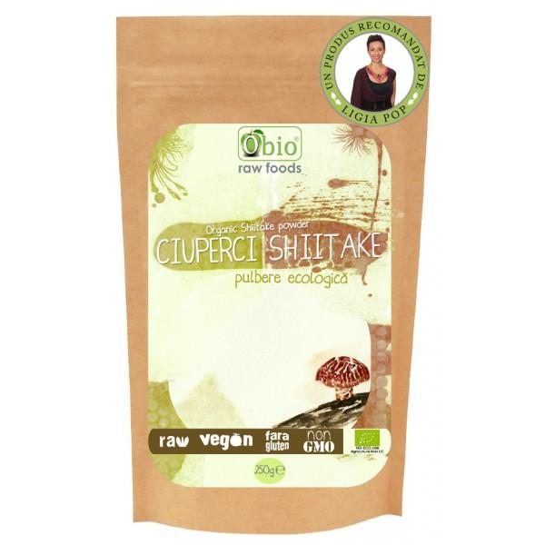 Shiitake pulbere (250 grame)