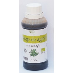 Sirop de agave brun (dark) raw bio (250ml)