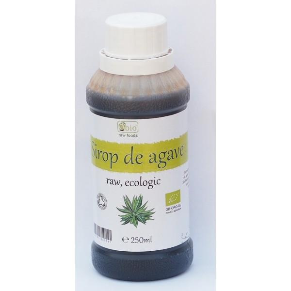 Sirop de agave brun (dark) raw bio (250ml)
