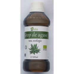Sirop de agave brun (dark) raw bio (500ml)
