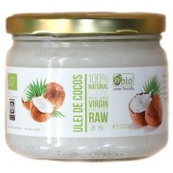 Obio, Ulei de cocos virgin raw bio (250 grame)