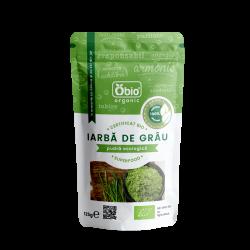 Iarba de grau pulbere raw bio (125g)