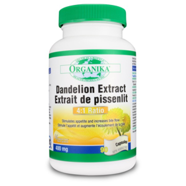 Dandelion (90 capsule), Organika Canada
