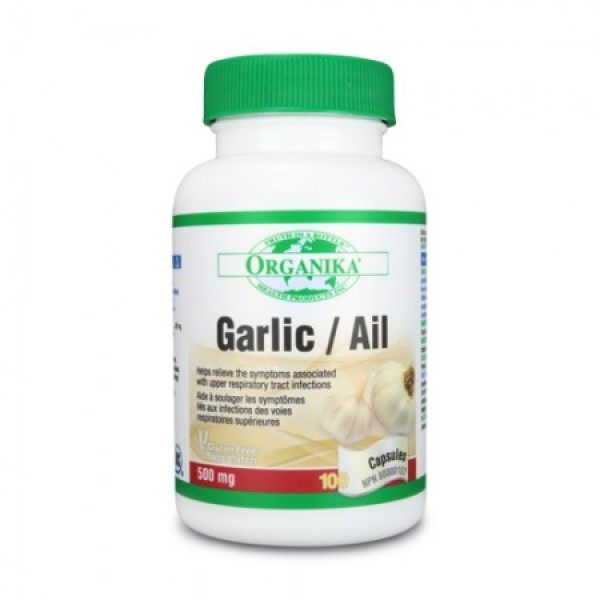 Usturoi Organika 500 mg (100 capsule)