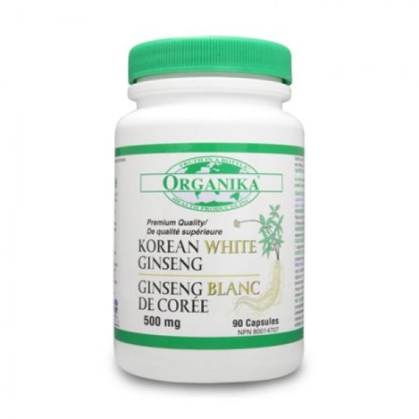 Ginseng Alb Korean 500 mg (90 capsule)