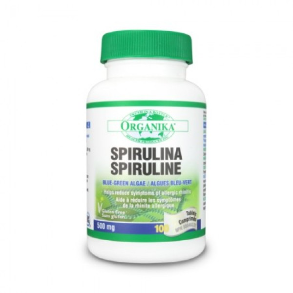 Spirulina Organika 500 mg (100 tablete)