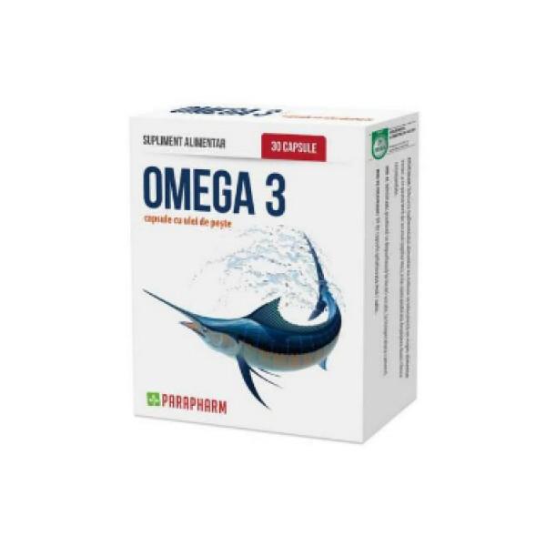 Quantumpharm, Omega 3 (30 capsule cu ulei de peste)