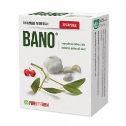 Quantumpharm, Capsule Bano cu extract de usturoi, paducel si vasc (30 capsule)