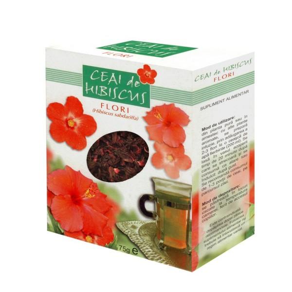 Quantumpharm, Ceai de Hibiscus (75 grame)
