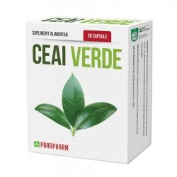 Quantumpharm, Ceai verde (30 capsule gelatinoase)