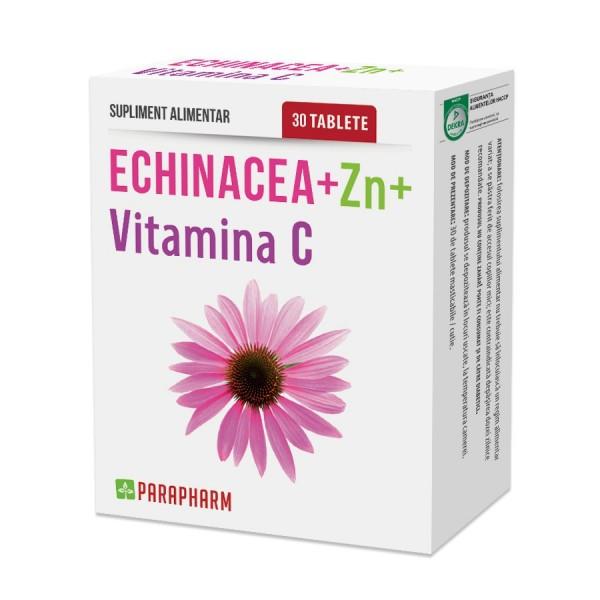 Quantumpharm, Echinacea + Zn + vitamina C (30 capsule)