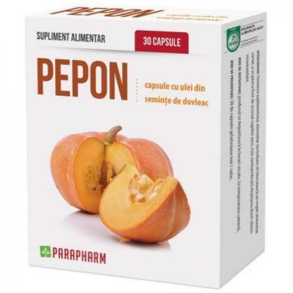 Quantumpharm, Pepon (capsule cu ulei de dovleac) (30 capsule)