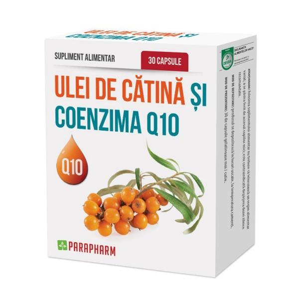 Quantumpharm, Ulei de catina cu coenzima Q10 (30 capsule)