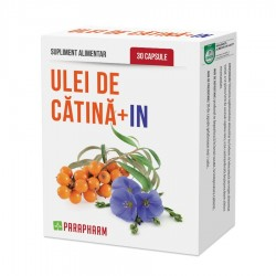 Quantumpharm, Ulei de catina + in (30 capsule)