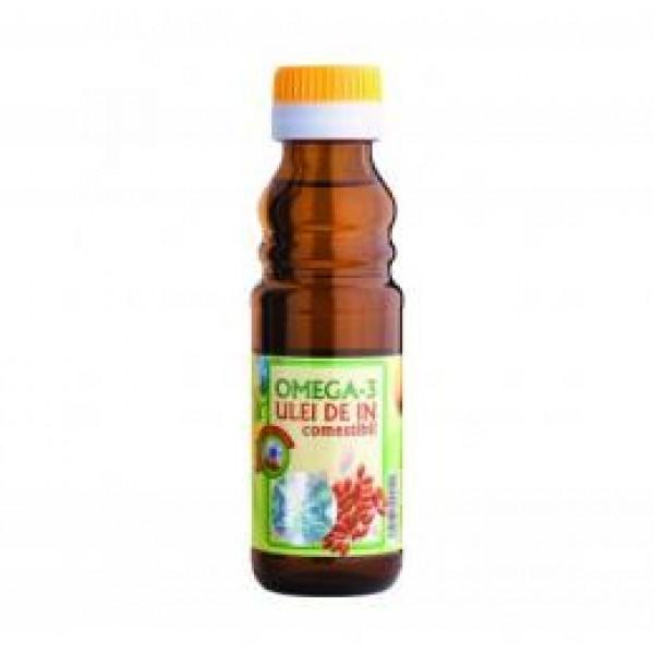 Quantumpharm, Ulei de in cu Omega 3 (100 ml)