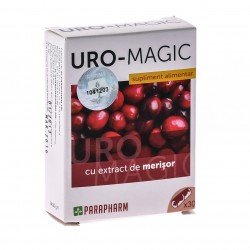 Quantumpharm, Uro - Magic (cu extract de merisor) (30 capsule)
