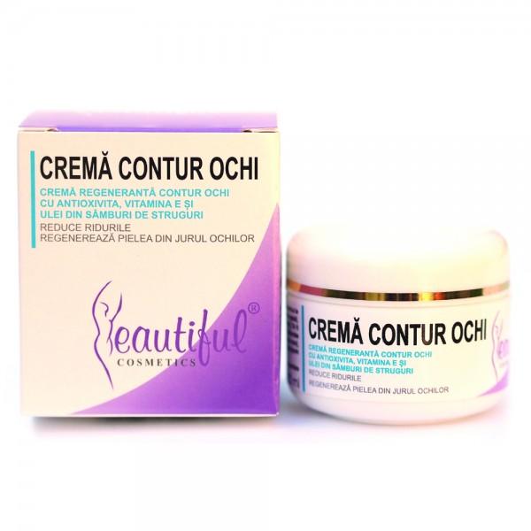 Crema contur ochi cu Antioxivita (50 ml), Beautiful Cosmetics