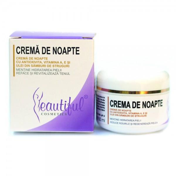 Crema de noapte cu Antioxivita (50 ml), Beautiful Cosmetics
