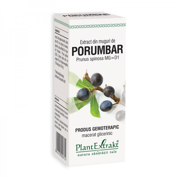 Extract din muguri de porumbar - Prunus Spinosa MG=D1 (50 ml), Plantextrakt