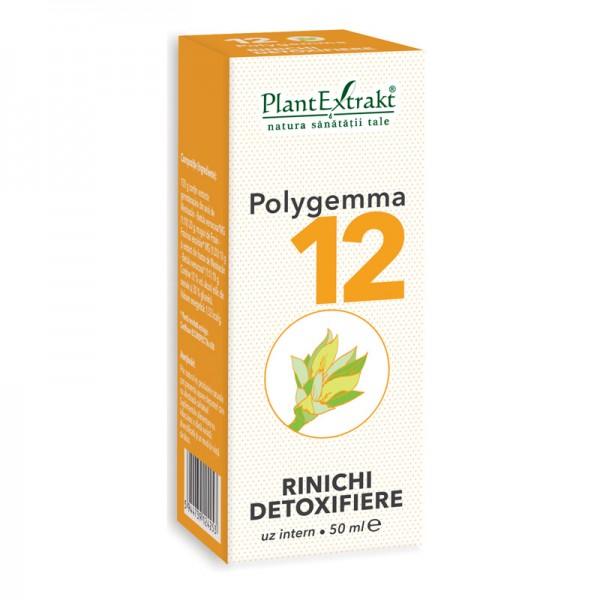Polygemma 12 - Rinichi, detoxifiere (50 ml), Plantextrakt