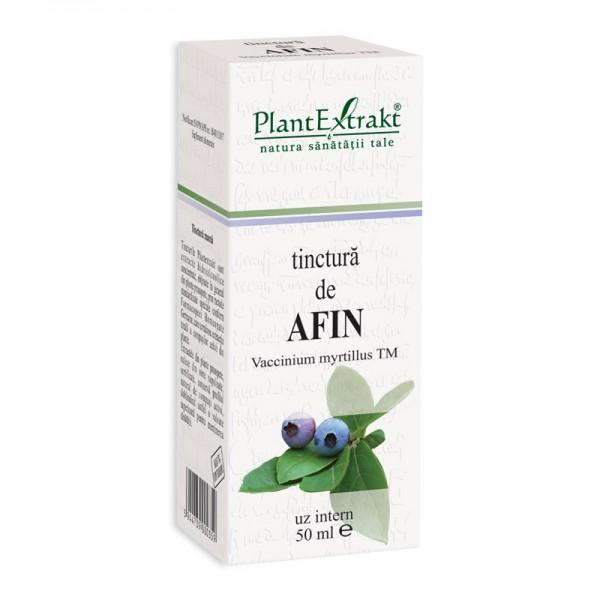Tinctura de afin - Vaccinium Myrtillus TM (50 ml), Plantextrakt