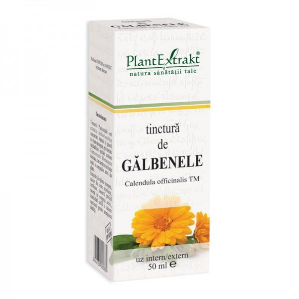Tinctura de galbenele - Calendula Officinalis TM (50 ml), Plantextrakt
