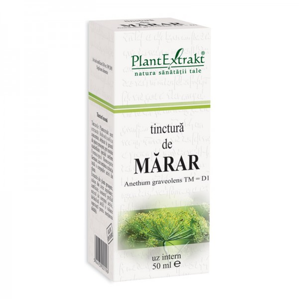 Tinctura de marar - Anethum Graveolens TM=D1 (50 ml), Plantextrakt