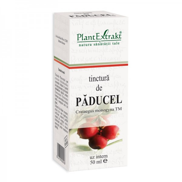 Tinctura de paducel - Crataegus Monogyna TM (50 ml), Plantextrakt