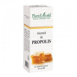 Tinctura de propolis (30 ml), Plantextrakt