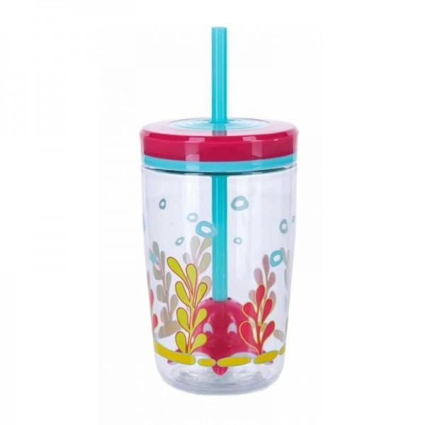 Sticla de apa pentru copii Contigo Bueno Floating Straw 470 ml squid