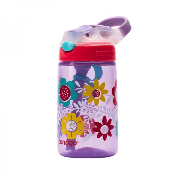 Sticla de apa pentru copii Contigo Gizmo Flip 420 ml wisteria